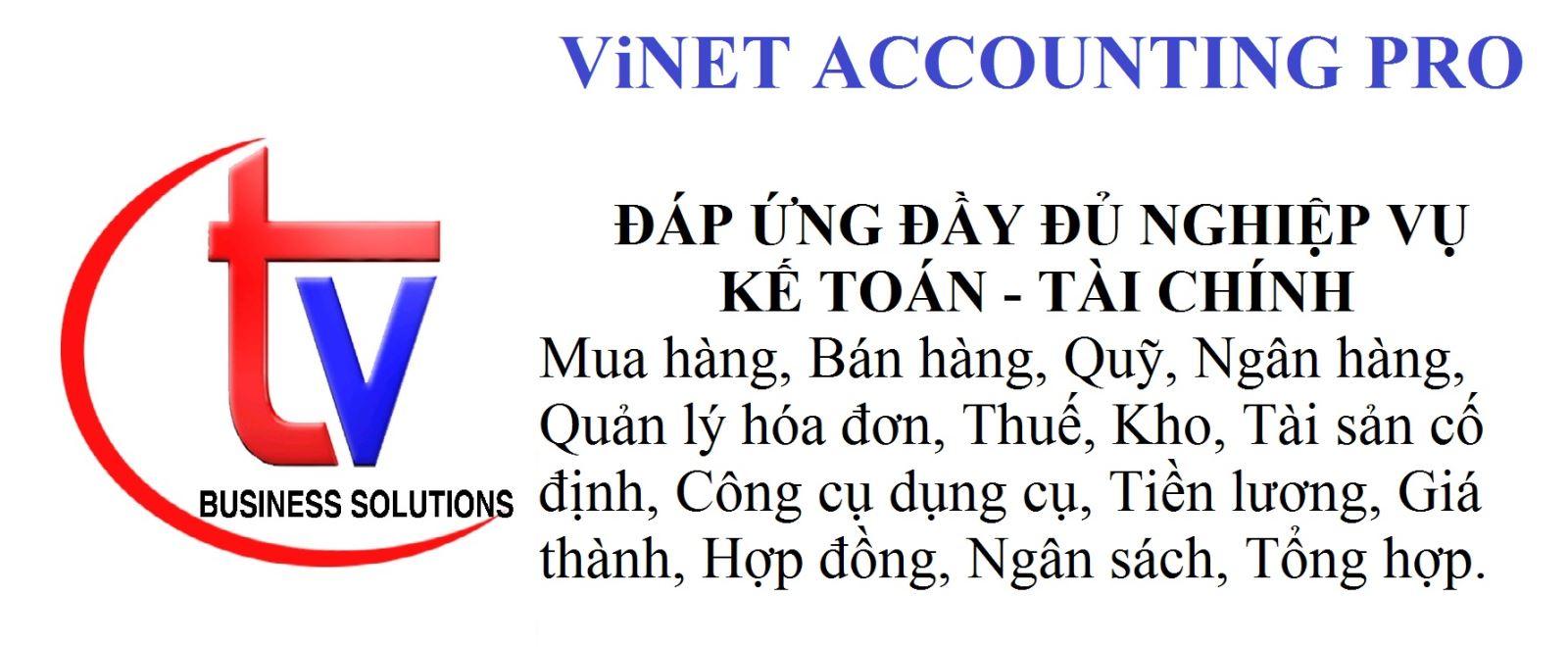 ViNET ACCOUNTING PRO
